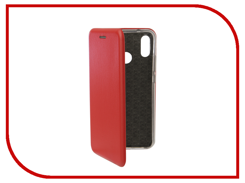 Аксессуар Чехол для Huawei P20 Lite Innovation Book Silicone Magnetic Red 13411 аксессуар чехол для huawei p smart 7s innovation silicone pink 12840