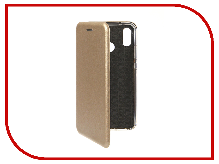 Аксессуар Чехол для Huawei P20 Lite Innovation Book Silicone Magnetic Gold 13412 аксессуар чехол книга для huawei p9 lite innovation book silicone gold 11510