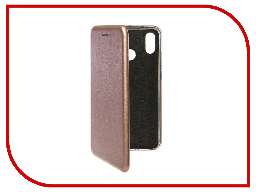 Аксессуар Чехол для Huawei P20 Lite Innovation Book Silicone Magnetic Rose Gold 13414 аксессуар чехол книга для huawei p9 lite innovation book silicone gold 11510