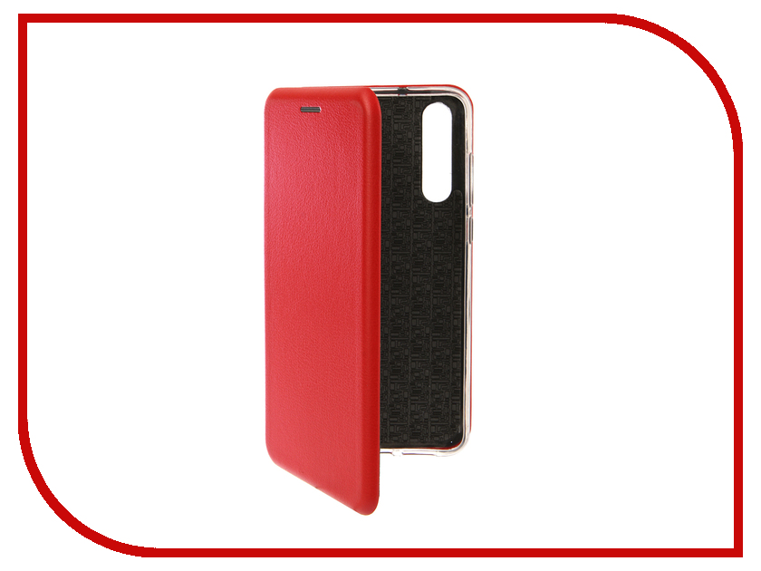 Аксессуар Чехол для Huawei P20 Pro Innovation Book Silicone Magnetic Red 13416 аксессуар чехол для huawei p smart 7s innovation silicone pink 12840
