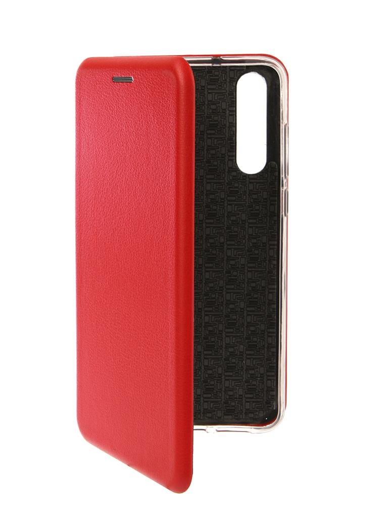 Чехол Innovation для Huawei P20 Pro Book Silicone Magnetic Red 13416 чехол innovation для huawei nova 3 book silicone magnetic red 13391
