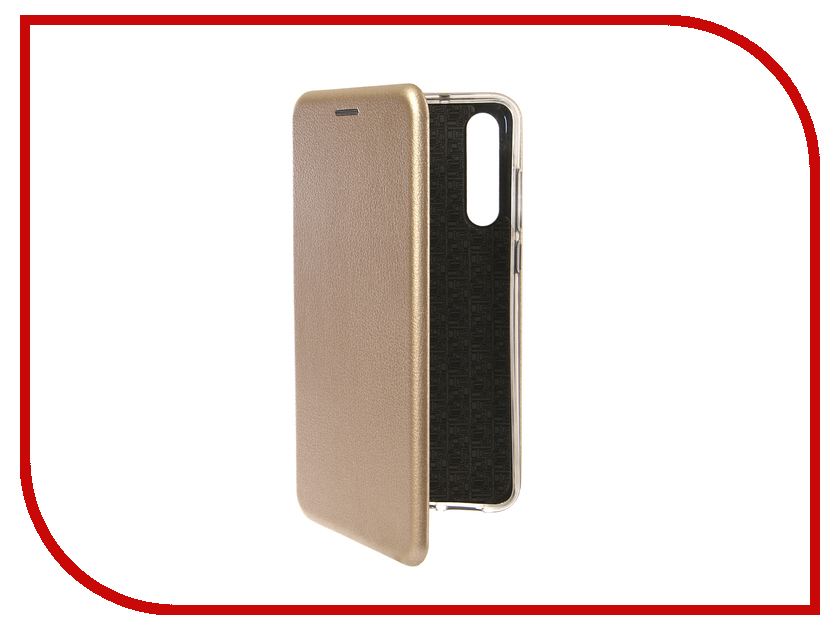 Аксессуар Чехол для Huawei P20 Pro Innovation Book Silicone Magnetic Gold 13417 аксессуар чехол книга для huawei 7c pro innovation book silicone silver 12409