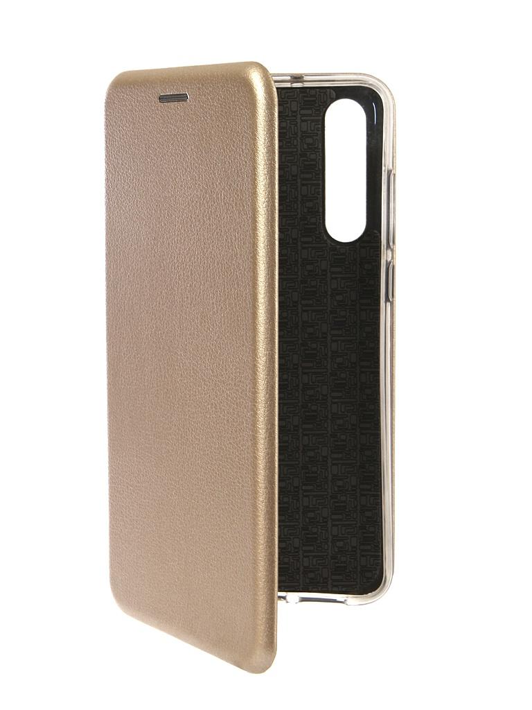 Фото - Аксессуар Чехол Innovation для Huawei P20 Pro Book Silicone Magnetic Gold 13417 аксессуар