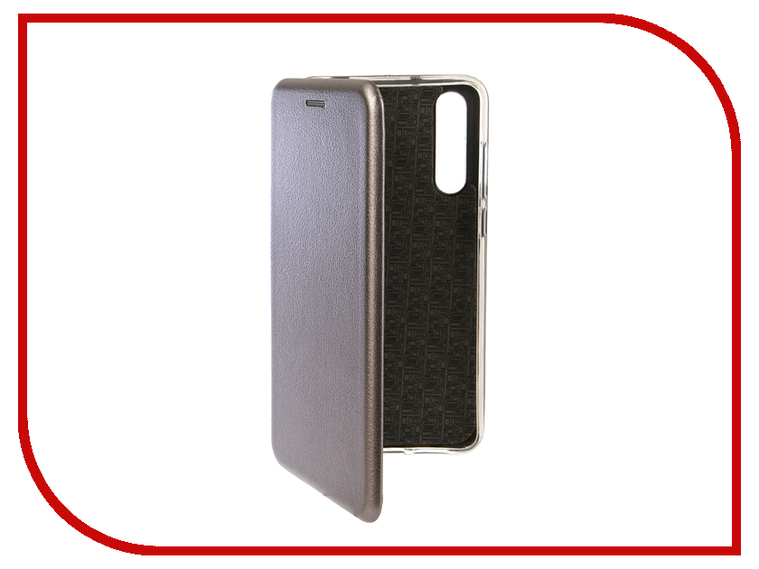 Аксессуар Чехол для Huawei P20 Pro Innovation Book Silicone Magnetic Silver 13418 аксессуар чехол книга для huawei 7c pro innovation book silicone silver 12409