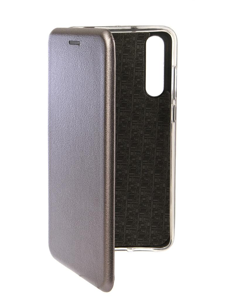 Аксессуар Чехол Innovation для Huawei P20 Pro Book Silicone Magnetic Silver 13418