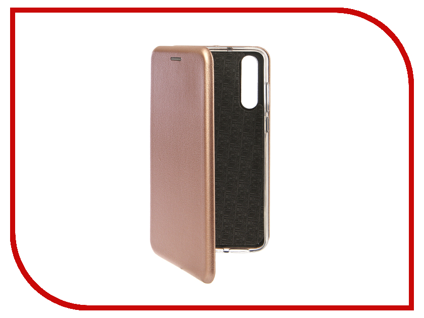Аксессуар Чехол для Huawei P20 Pro Innovation Book Silicone Magnetic Rose Gold 13419 аксессуар чехол для huawei p smart 7s innovation silicone pink 12840
