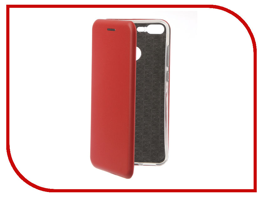 Аксессуар Чехол для Huawei Honor 10 Lite Innovation Book Silicone Magnetic Red 13426 аксессуар чехол книга для huawei p9 lite innovation book silicone gold 11510