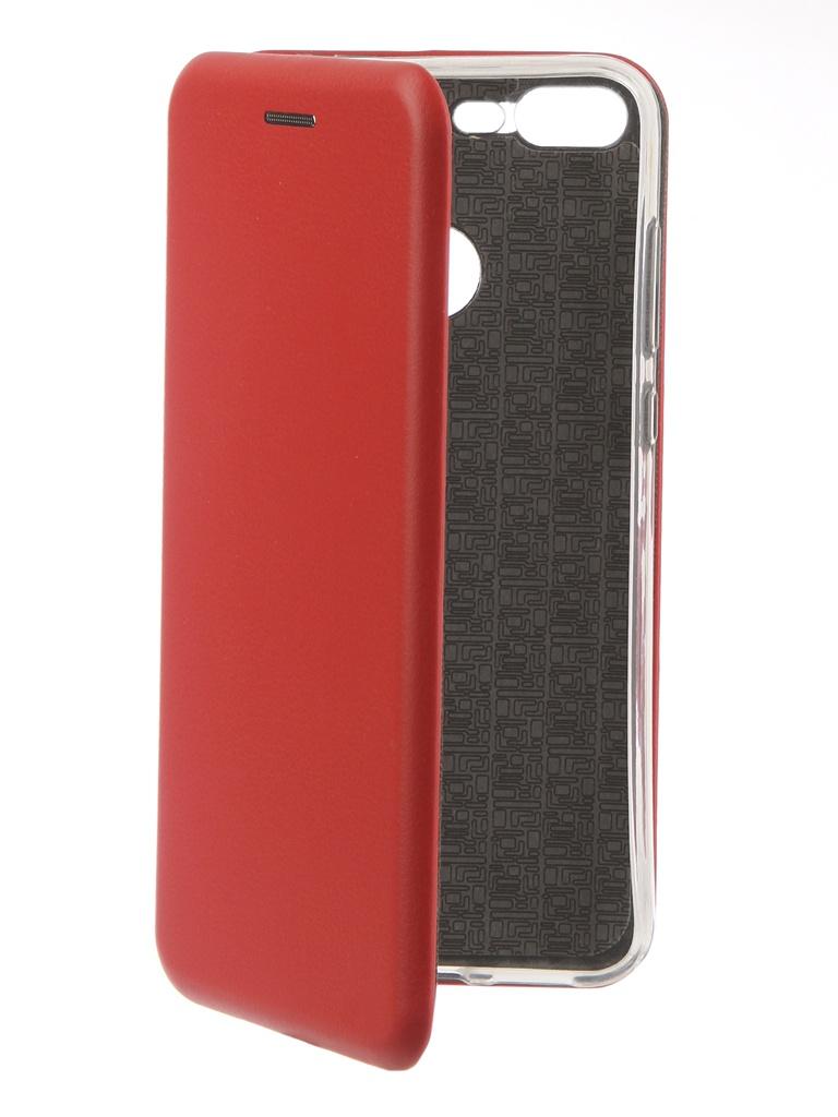 Аксессуар Чехол Innovation для Honor 10 Lite Book Silicone Magnetic Red 13426 bering 13426 564