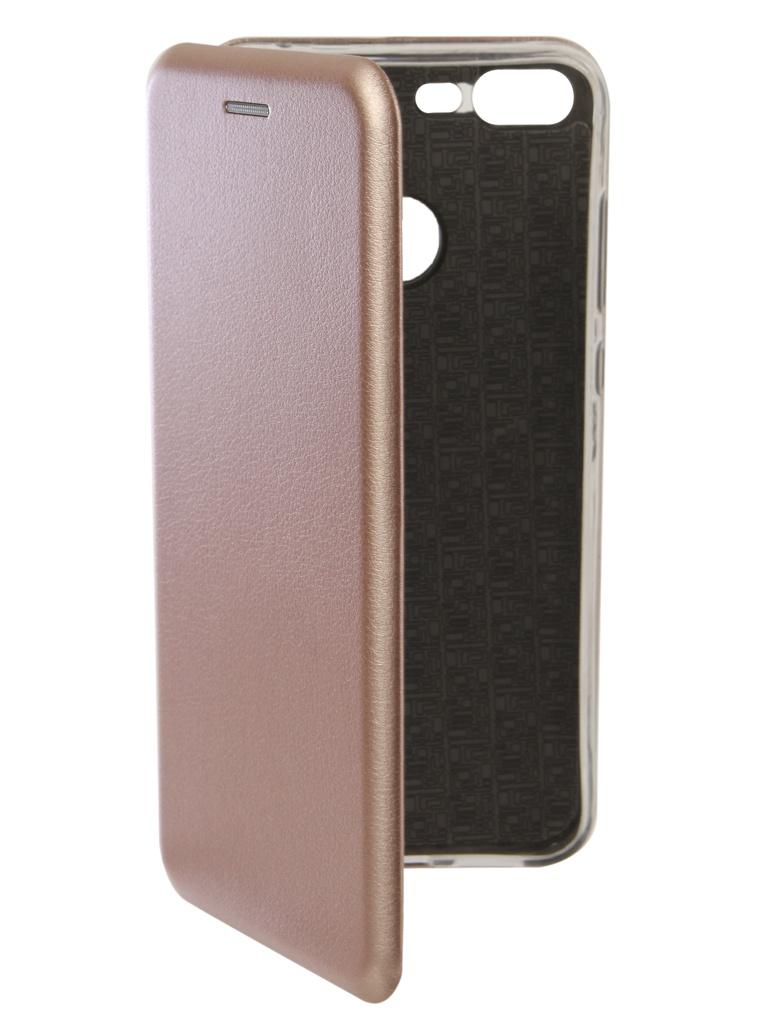 Аксессуар Чехол Innovation для Honor 10 Lite Book Silicone Magnetic Rose Gold 13429 аксессуар чехол huawei honor 8 lite svekla flash silicone gold frame svf hwh8lite gold