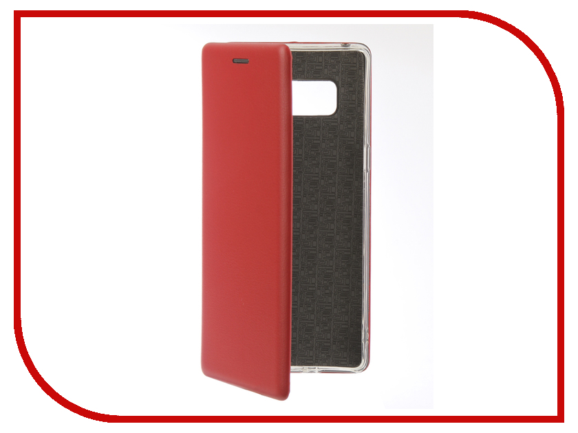 Аксессуар Чехол для Samsung Galaxy Note 8 Innovation Book Silicone Magnetic Red 13431 аксессуар чехол для samsung galaxy j2 2018 innovation book silicone red 12175