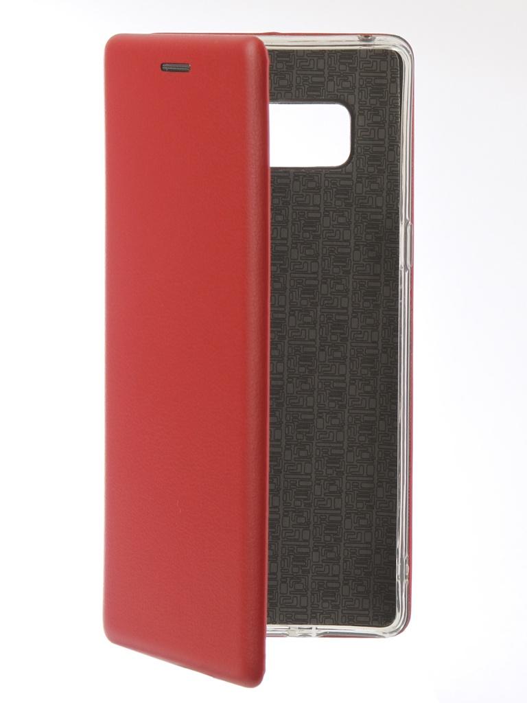 Аксессуар Чехол Innovation для Samsung Galaxy Note 8 Book Silicone Magnetic Red 13431 аксессуар чехол для samsung galaxy note 8 innovation book silicone magnetic gold 13432