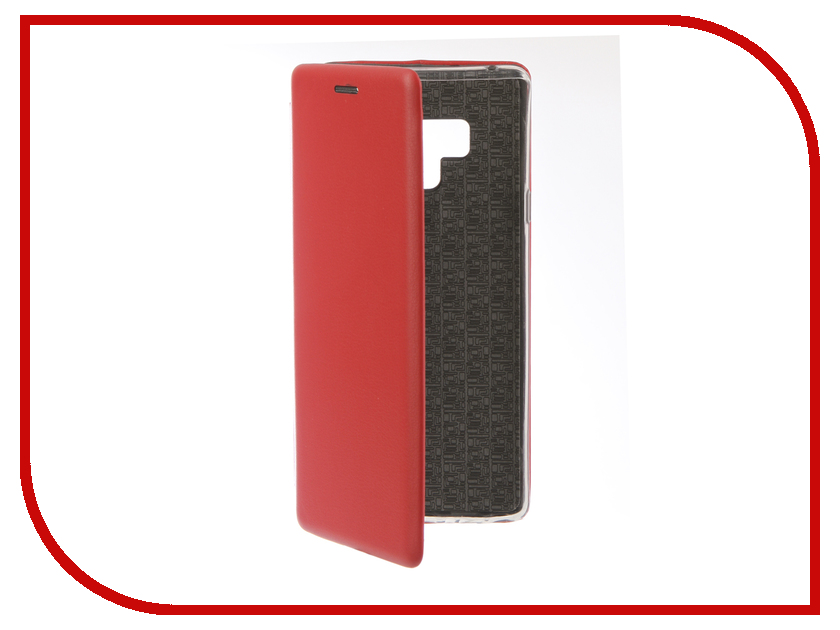 Аксессуар Чехол для Samsung Galaxy Note 9 Innovation Book Silicone Magnetic Red 13436 цена и фото