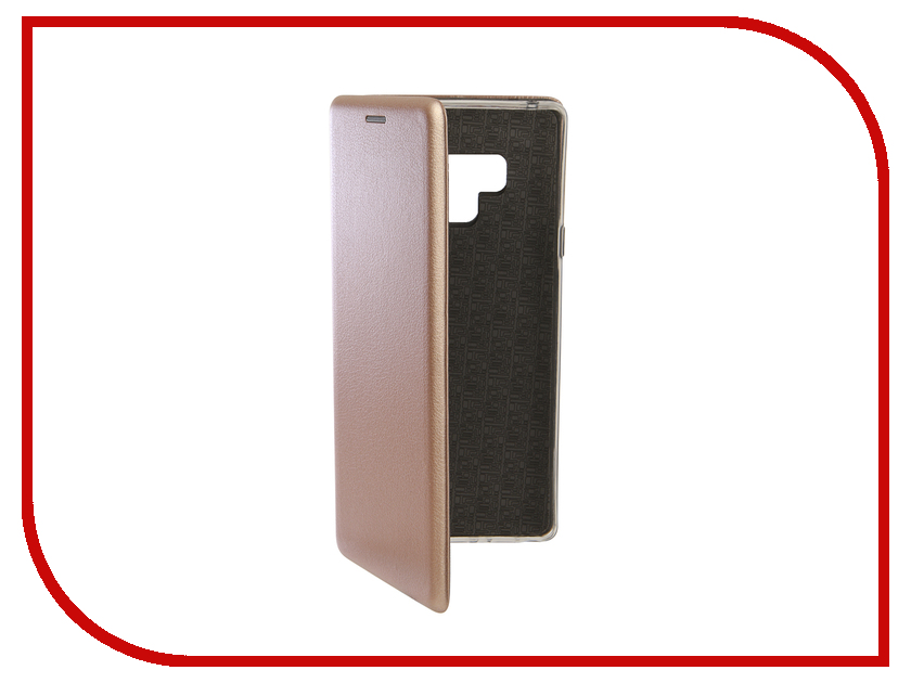 Аксессуар Чехол для Samsung Galaxy Note 9 Innovation Book Silicone Magnetic Rose Gold 13439 аксессуар чехол для xiaomi pocophone f1 innovation book silicone magnetic rose gold 13449