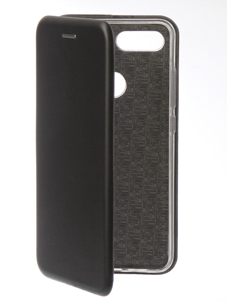 Аксессуар Чехол Innovation для Xiaomi Mi 8 Lite Book Silicone Magnetic Black 13440 все цены