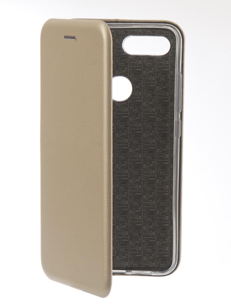 Аксессуар Чехол Innovation для Xiaomi Mi 8 Lite Book Silicone Magnetic Gold 13442 аксессуар чехол книга для xiaomi mi note 3 innovation book silicone rose gold 12461