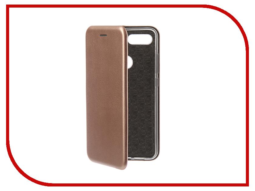 Аксессуар Чехол для Xiaomi Mi 8 Lite Innovation Book Silicone Magnetic Rose Gold 13444 аксессуар чехол для xiaomi mi5x mi a1 innovation book silver 11952
