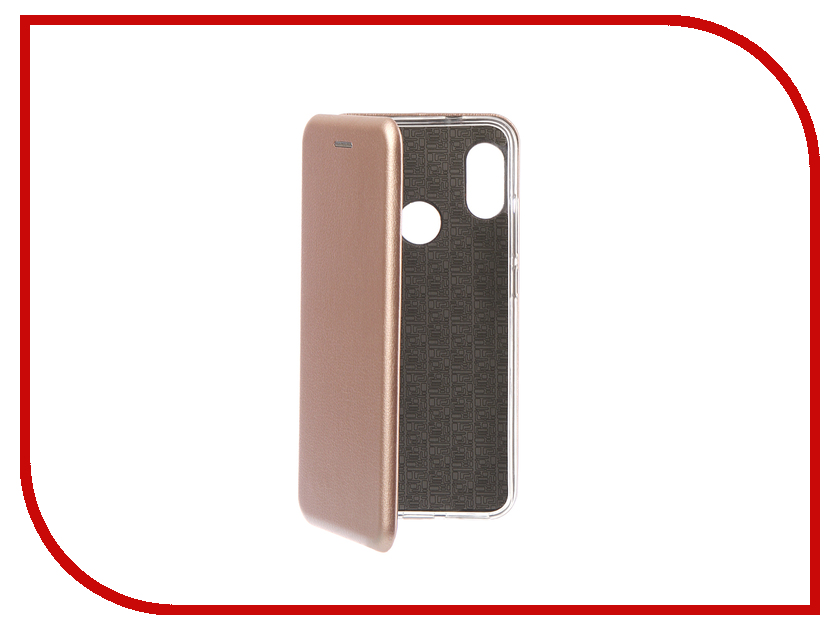 Аксессуар Чехол для Xiaomi Redmi 6 Pro Innovation Book Silicone Magnetic Rose Gold 13454 аксессуар чехол книга для xiaomi redmi 5 plus redmi note 5 innovation book silicone rose gold 11447