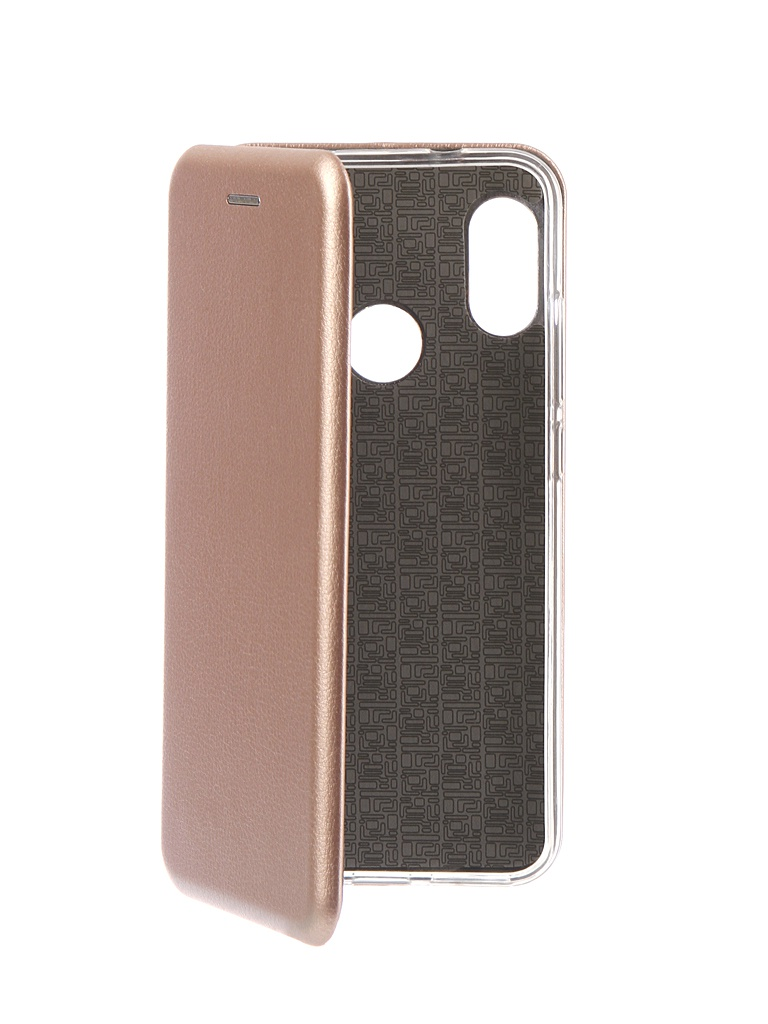 Аксессуар Чехол Innovation для Xiaomi Redmi 6 Pro Book Silicone Magnetic Rose Gold 13454 аксессуар чехол книга для xiaomi redmi 6 innovation book silicone black 12468