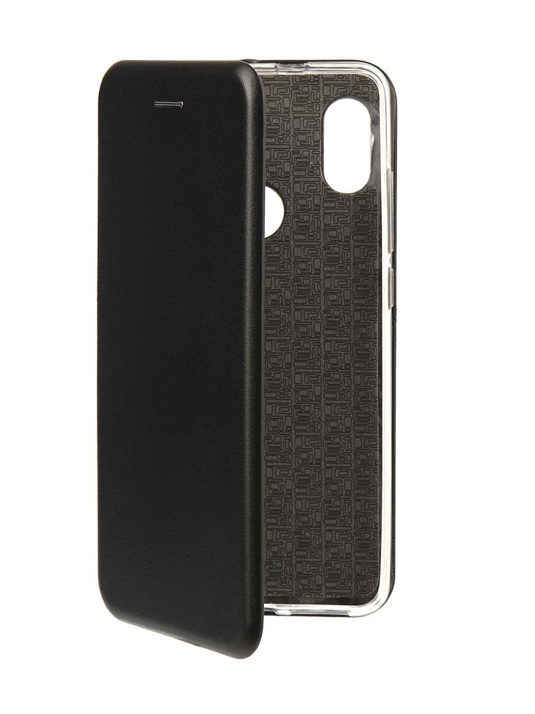 Аксессуар Чехол Innovation для Xiaomi Redmi Note 5 Pro 2018 Book Silicone Magnetic Black 13455 аксессуар чехол книга xiaomi redmi note 3 note 3 pro innovation book silicone rose gold 11438