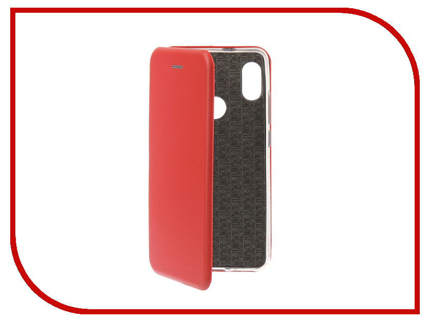 Аксессуар Чехол для Xiaomi Redmi Note 5 Pro 2018 Innovation Book Silicone Magnetic Red 13456 аксессуар чехол книга для xiaomi redmi 5 plus redmi note 5 innovation book silicone rose gold 11447