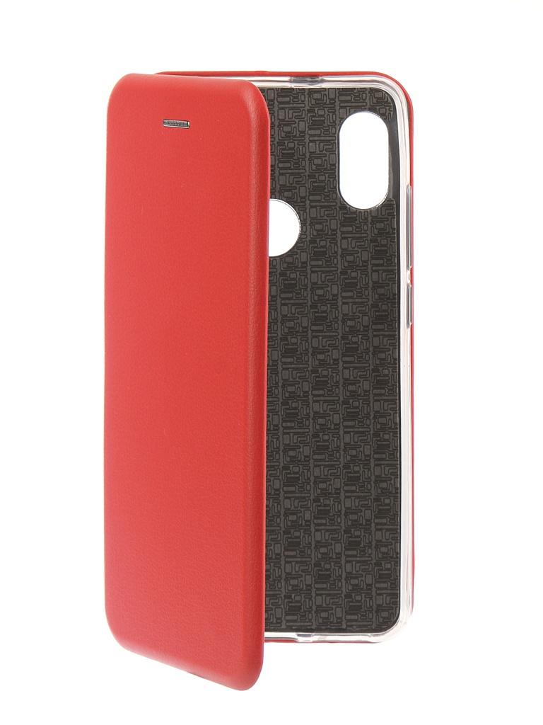 Аксессуар Чехол Innovation для Xiaomi Redmi Note 5 Pro 2018 Book Silicone Magnetic Red 13456 аксессуар чехол книга xiaomi redmi note 3 note 3 pro innovation book silicone rose gold 11438