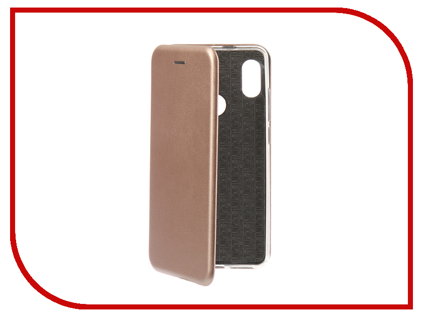 Аксессуар Чехол для Xiaomi Redmi Note 5 Pro 2018 Innovation Book Silicone Magnetic Rose Gold 13459 аксессуар чехол книга для xiaomi redmi 5 plus redmi note 5 innovation book silicone rose gold 11447