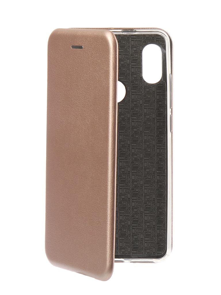 Аксессуар Чехол Innovation для Xiaomi Redmi Note 5 Pro 2018 Book Silicone Magnetic Rose Gold 13459 аксессуар чехол книга innovation для xiaomi redmi 5 plus redmi note 5 book silicone gold 11448