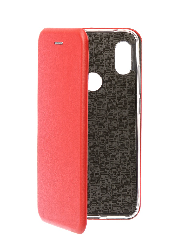 Аксессуар Чехол Innovation для Xiaomi Redmi Note 6 Pro 2018 Book Silicone Magnetic Red 13461 аксессуар чехол книга xiaomi redmi note 3 note 3 pro innovation book silicone rose gold 11438