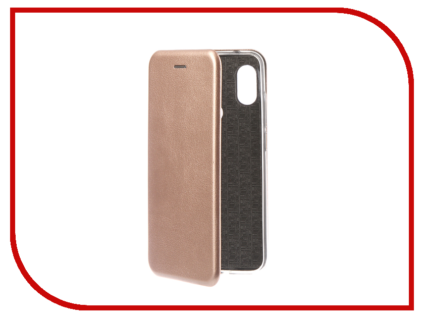 Аксессуар Чехол для Xiaomi Redmi Note 6 Pro 2018 Innovation Book Silicone Magnetic Rose Gold 13464 аксессуар чехол книга для xiaomi redmi 5 plus redmi note 5 innovation book silicone rose gold 11447