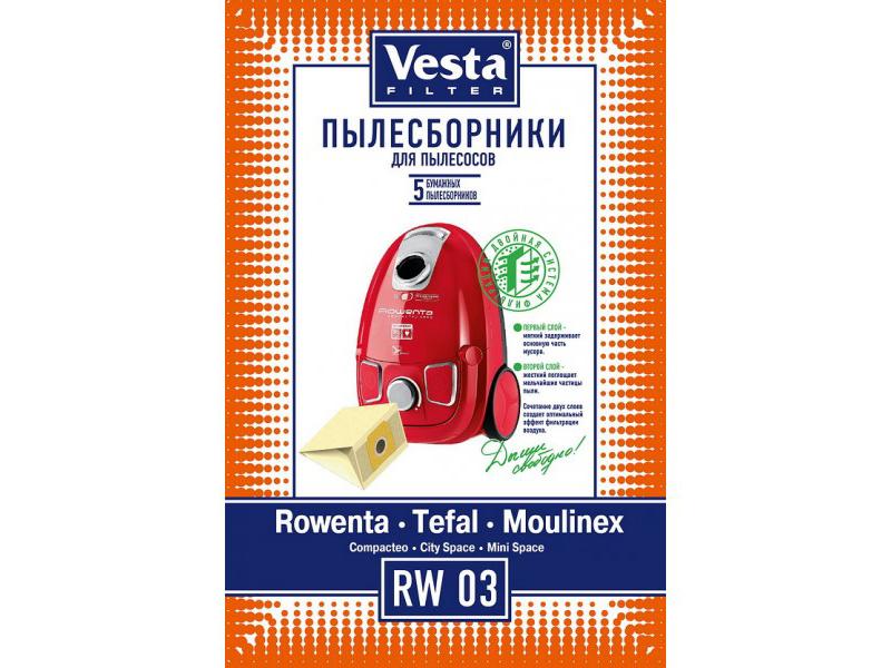 Комплект пылесборников Vesta Filter RW 03