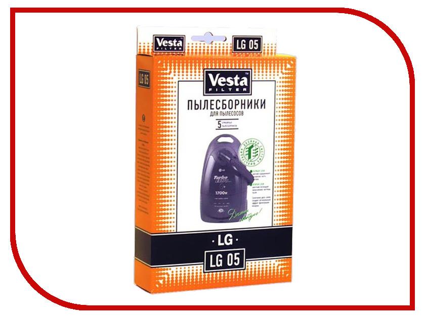 Комплект пылесборников Vesta Filter LG 05
