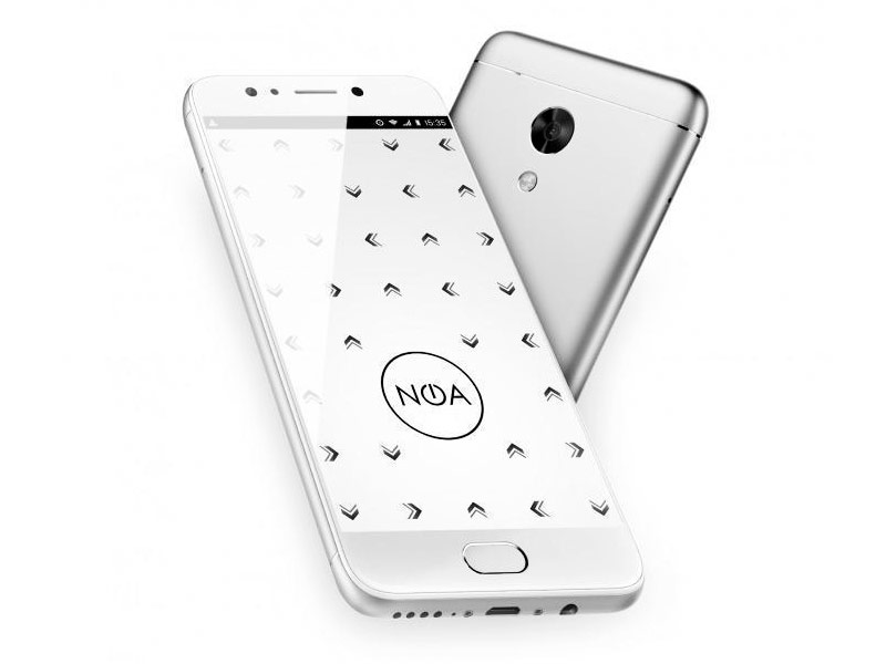 Сотовый телефон NOA N2 Silver секатор zhangxiaoquan n2 b9 004