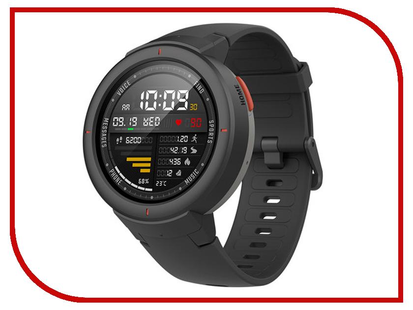 Умные часы Amazfit Verge Black умные часы xiaomi amazfit watch band black pace smartwatch black
