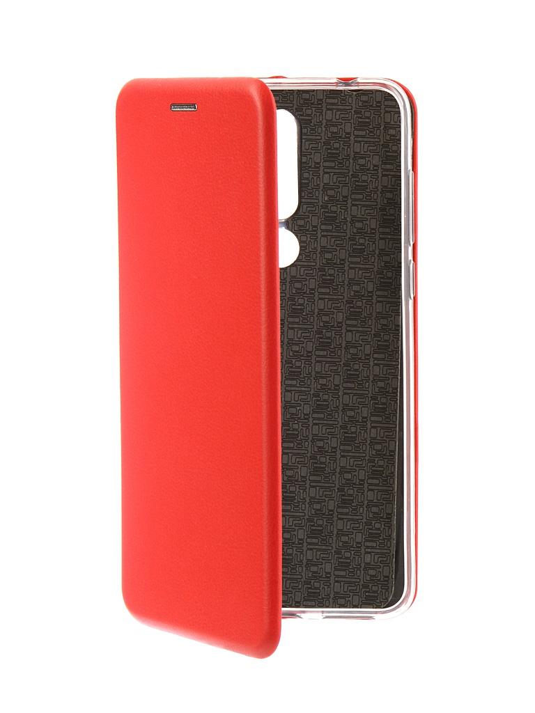 Аксессуар Чехол Neypo для Nokia 3.1 Plus Premium Red NSB6592 аксессуар чехол nokia x aksberry red