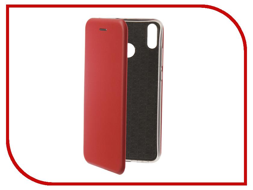 Чехол для Honor 8X Neypo Premium Red NSB5957 чехол для honor 9 lite neypo premium burgundy nsb5757