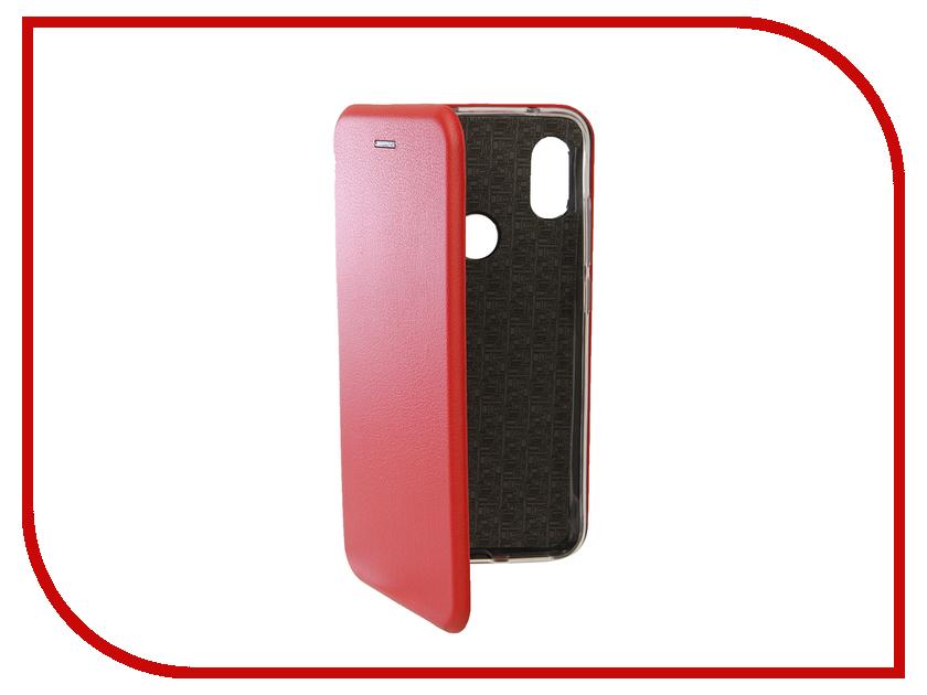 Аксессуар Чехол для Xiaomi Redmi Note 6/6 Pro Neypo Premium Red NSB6019 аксессуар чехол для xiaomi redmi note 5a 32gb neypo soft touch gold st3782