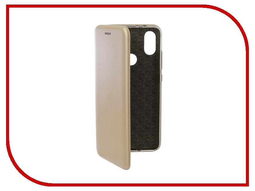 Аксессуар Чехол для Xiaomi Mi A2/6X Neypo Premium Gold NSB4995 аксессуар чехол для xiaomi mi a2 mi 6x df xiflip 25