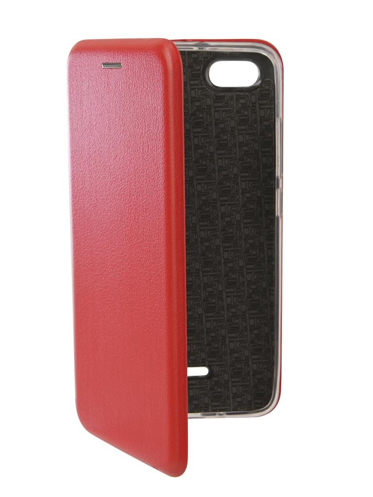 Аксессуар Чехол Neypo для Xiaomi Redmi 6A Premium Red NSB6404