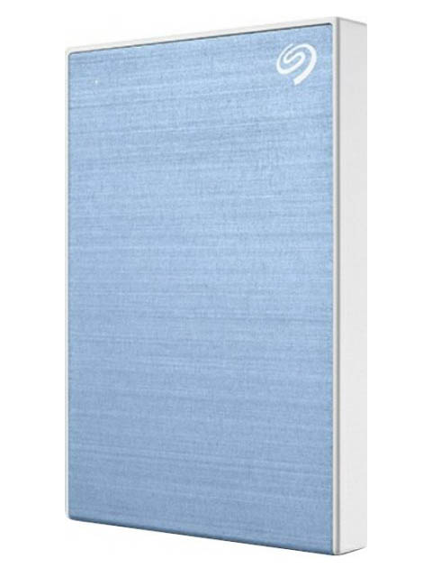 Жесткий диск Seagate Backup Plus Slim 2Tb Light-Blue STHN2000402