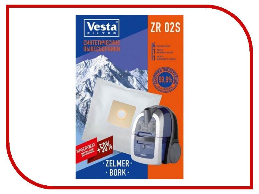 Мешки пылесборные Vesta Filter ZR 02 S ac2010 02 polycarbonate air source treatment pneumatic filter regulator w gauge