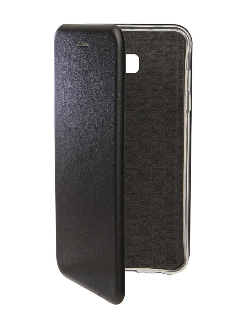 Аксессуар Чехол Neypo для Samsung Galaxy J4 Plus 2018 Premium Black NSB5899 аксессуар чехол onext для samsung galaxy j4 plus 2018 экокожа black 70706