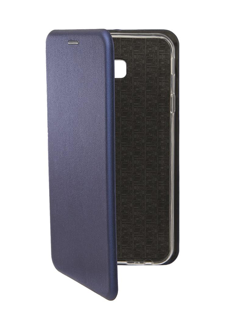 Аксессуар Чехол Neypo для Samsung Galaxy J4 Plus 2018 Premium Blue NSB5904 аксессуар чехол для samsung j4 plus 2018 neypo soft matte dark blue nst5983