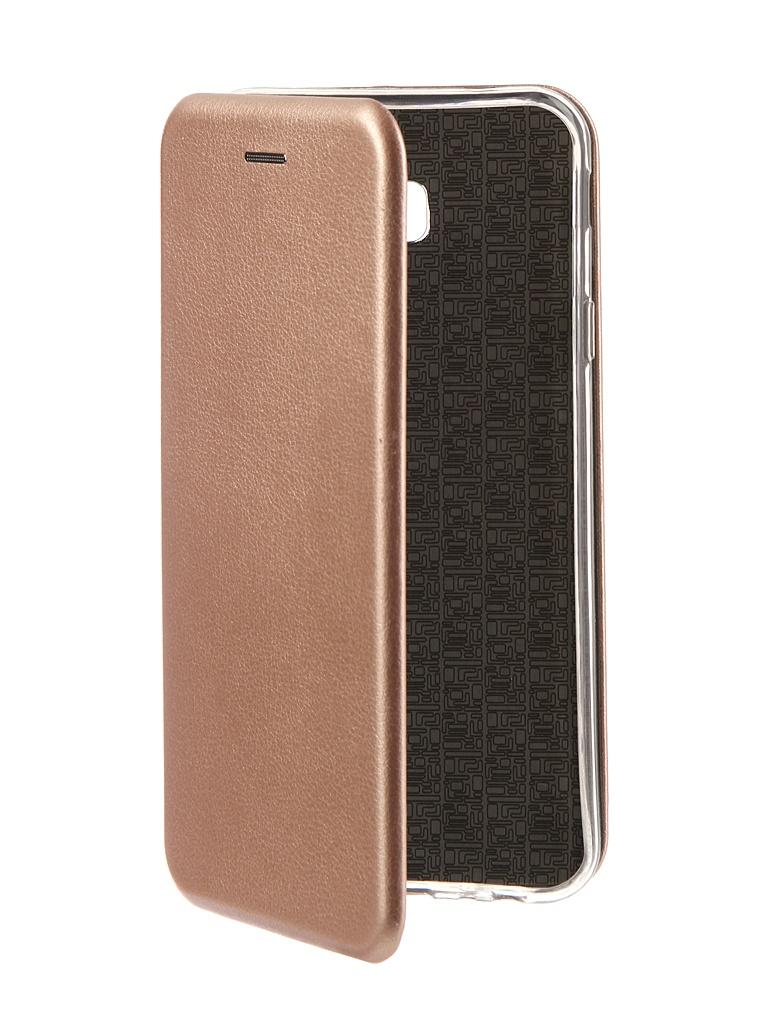 Аксессуар Чехол Neypo для Samsung Galaxy J4 Plus 2018 Premium Rose Gold NSB6351 аксессуар чехол для samsung j4 plus 2018 neypo soft matte dark blue nst5983
