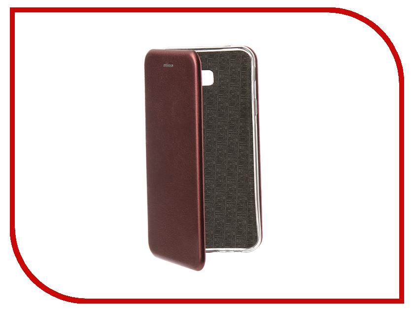 Купить Аксессуар Чехол для Samsung Galaxy J4 Plus 2018 Neypo Premium Bordo NSB6347