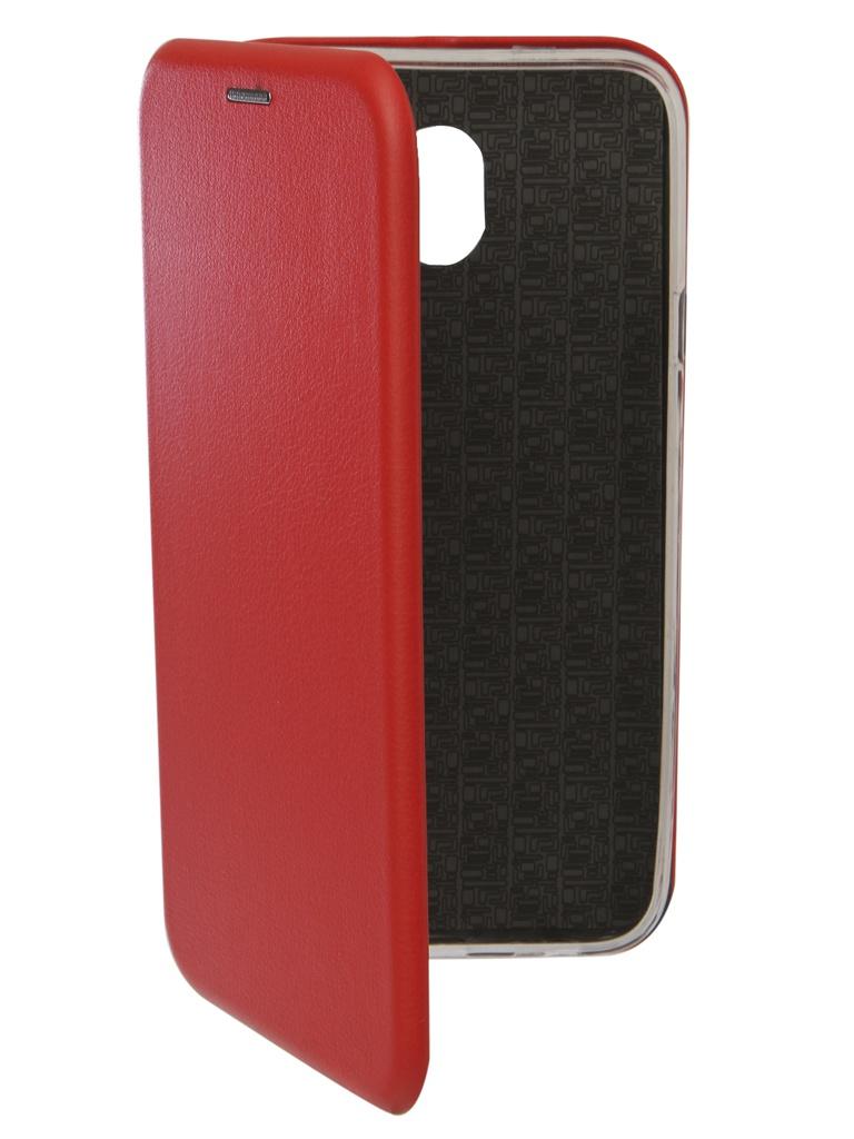 Аксессуар Чехол Neypo для Samsung Galaxy J4 2018 Premium Red NSB4540 аксессуар чехол neypo для samsung galaxy j4 plus 2018 premium blue nsb5904