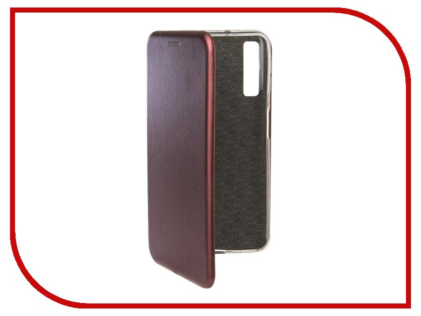 Аксессуар Чехол для Samsung Galaxy A7 2018 Neypo Premium Bordo NSB6350