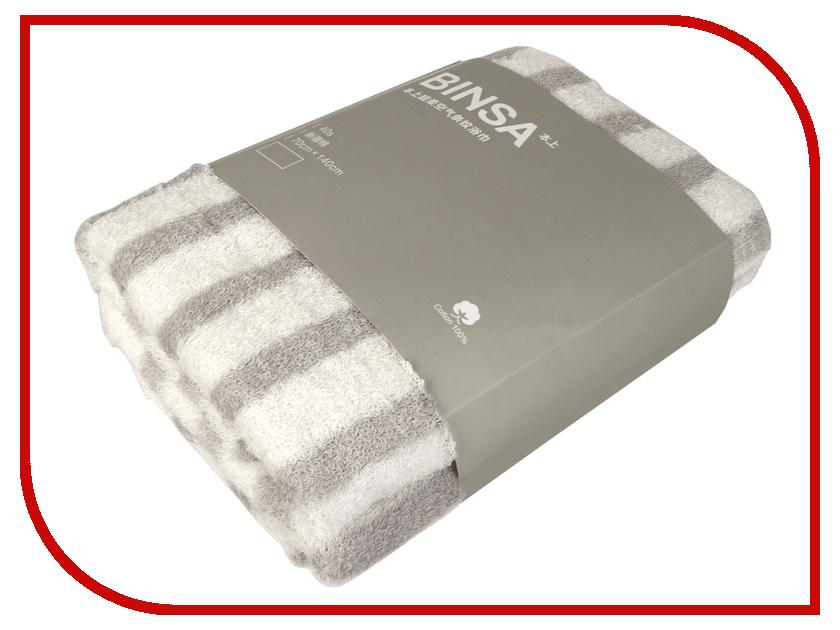 Полотенце Xiaomi Binsa 70x140cm White-Grey самокат atemi afs16 1201 white