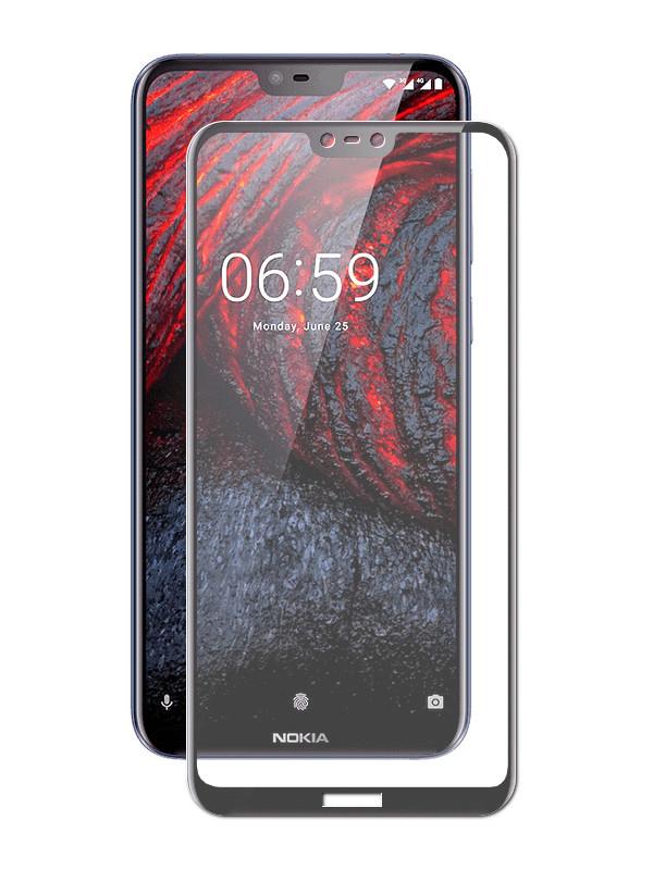 Аксессуар Защитное Стекло Neypo для Nokia 6.1 Plus Full Glue Glass Black Frame NFGL6118 аксессуар защитное стекло для honor 10 neypo full glue glass black frame nfgl4606