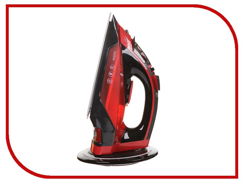Утюг Polaris PIR 2699K Cord[LESS] Black-Red 110db loud security alarm siren horn speaker buzzer black red dc 6 16v