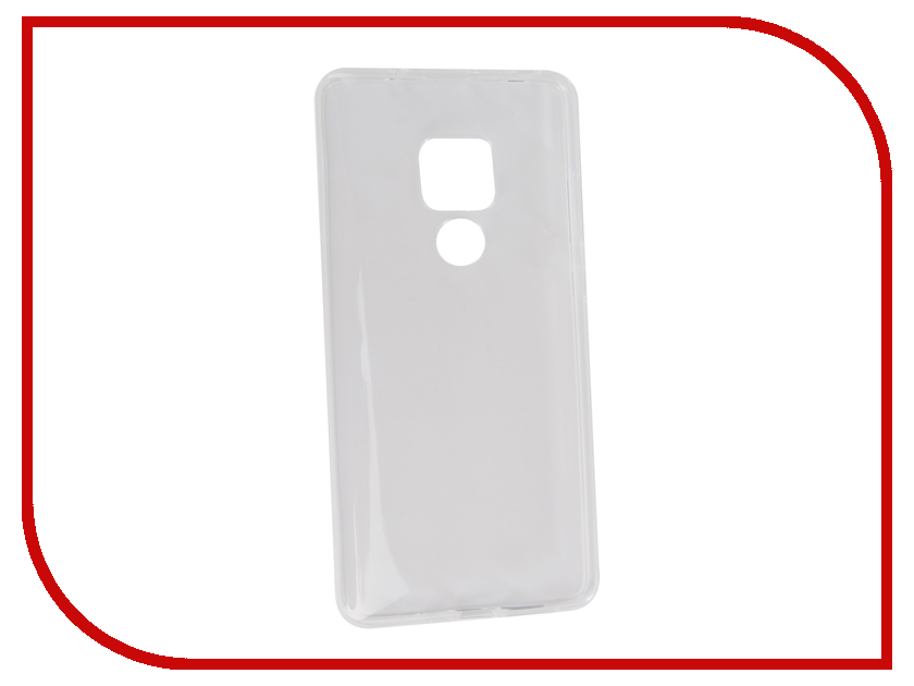 Аксессуар Чехол для Huawei Mate 20 Neypo Silicon Transparent NST5925 аксессуар чехол для huawei mate 20 lite neypo premium bordo nsb6346